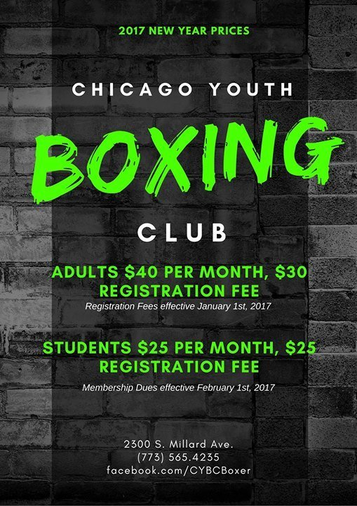 Chicago Youth Boxing Club 1