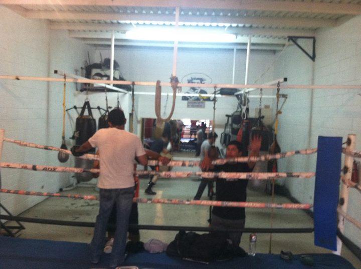Zapata boxing gym 1