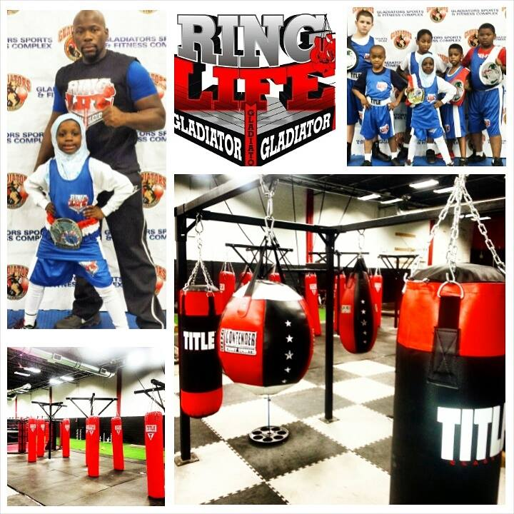 Gladiator Boxing & BarBell 1