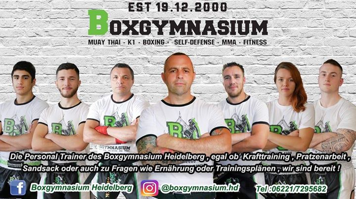 Boxgymnasium Heidelberg 1