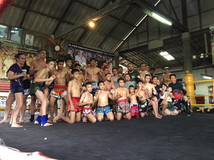 Boxing Pattaya - Petchrungruang Gym 1