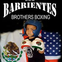 Los Barrientes Brothers Boxing. At Pound 4 Pound boxing gym 1